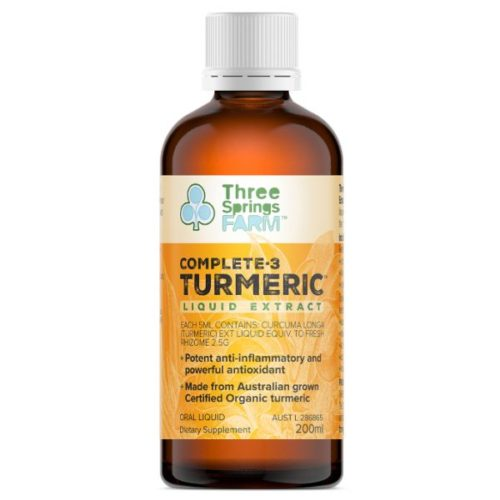 Complete 3 Turmeric Liquid Extract 200ml bottle